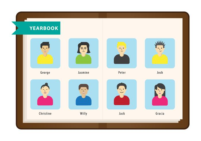 Free Yearbook Vector
