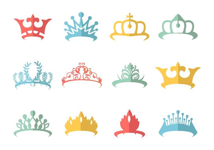 Crown Pageant Vector