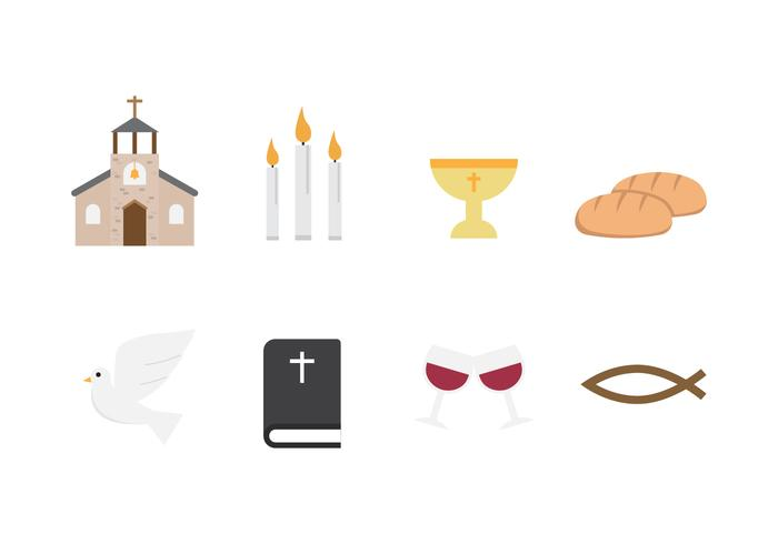 Free Communion Vector Icons