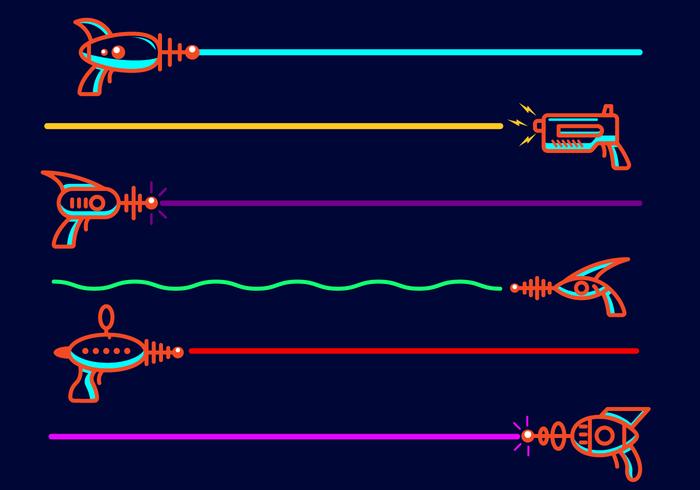 Vector d'étiquettes laser gratuit