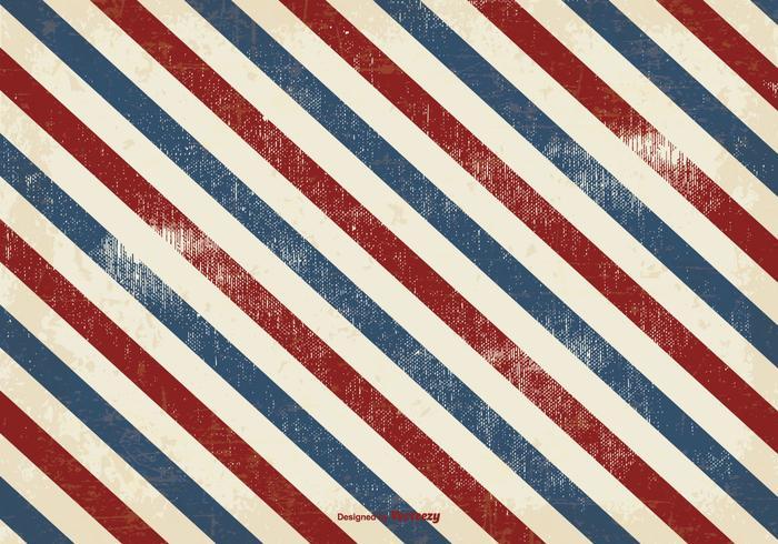 Vector USA Grunge Stripes Background