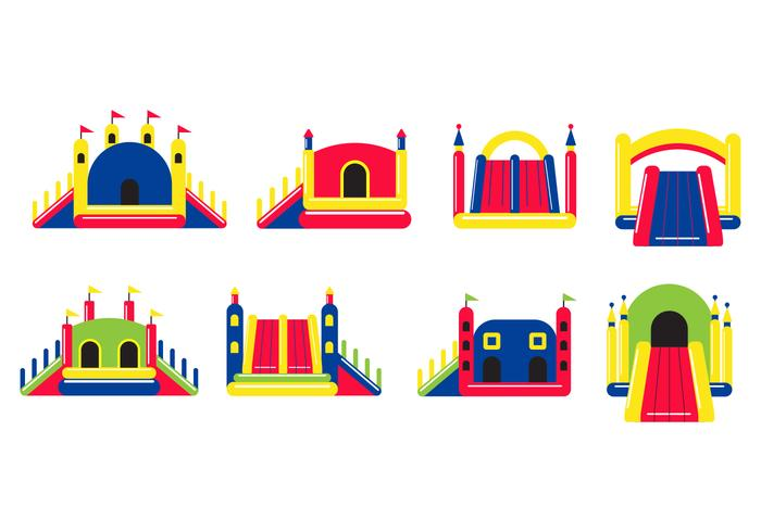Free Bounce House Vector