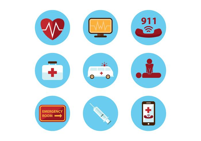 Medical Emergency Icons
