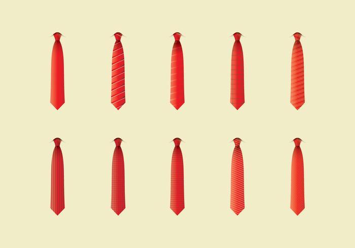 Conjunto de ícones de cravat