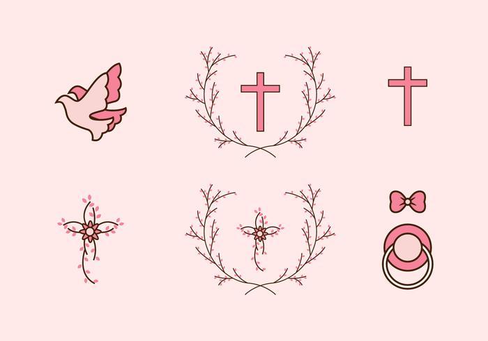 Pink Bautizo Icon