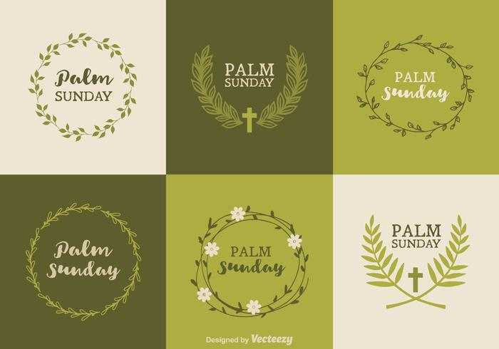 Free Palm Sunday Vector Designs