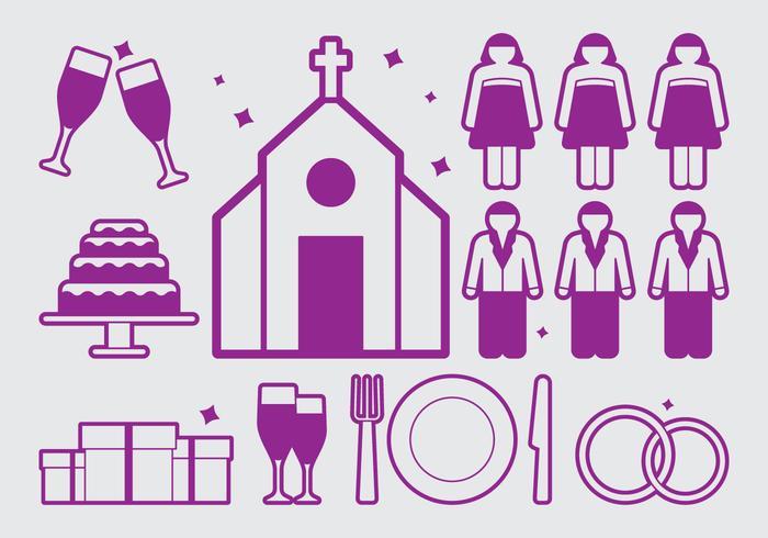 Hochzeitsplaner Icon