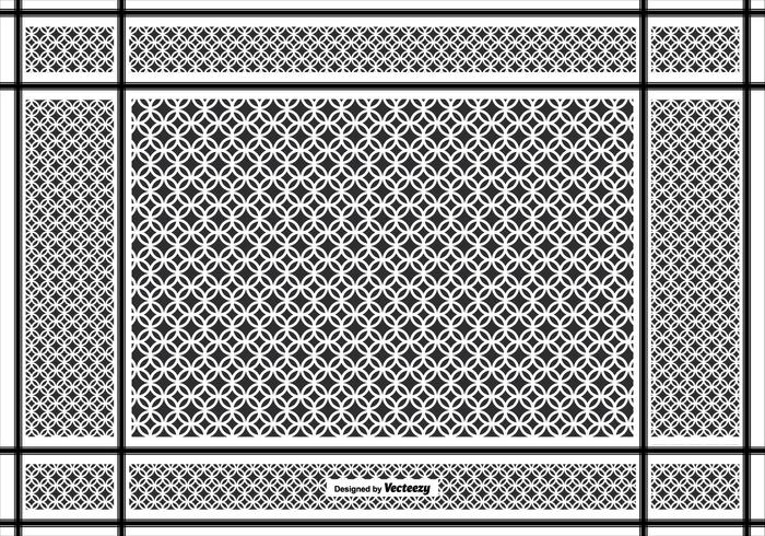 Keffiyeh Vector Pattern Background