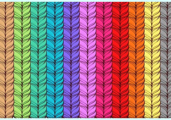 Rainbow Cashmere Free Vector