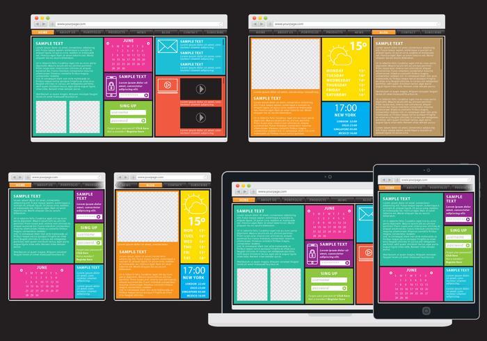 Colorful Adaptive Web