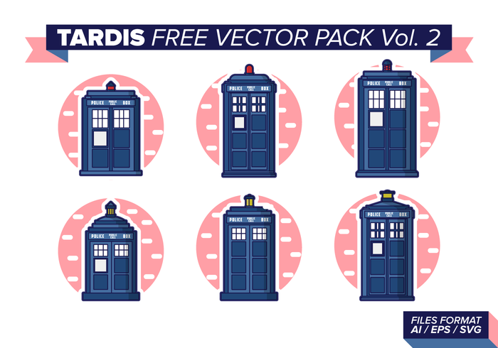 Tardis Free Vector Pack Vol. 2