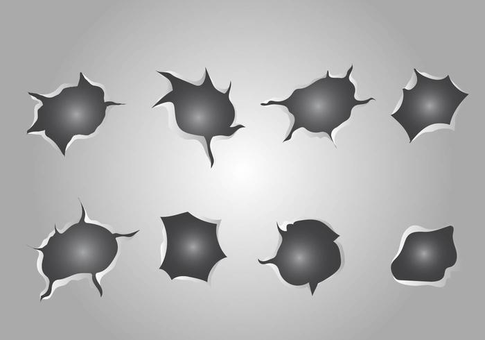 Free Metal Tear Vector
