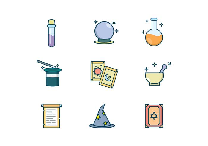Free Magic Items Vector