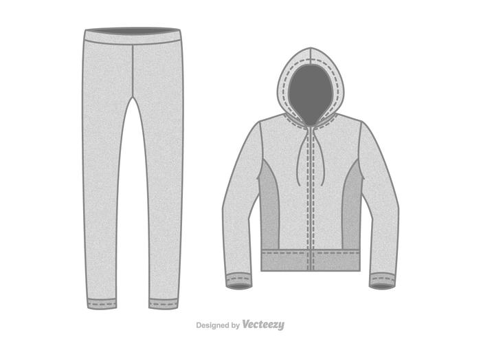 Free Tracksuit Vector Illustration