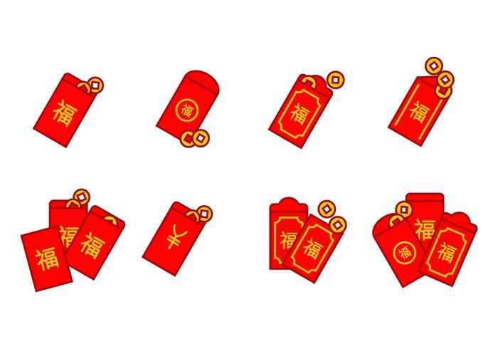 Röd paketikon
