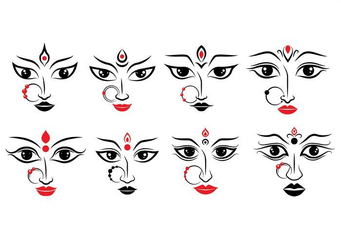 Durga Icons