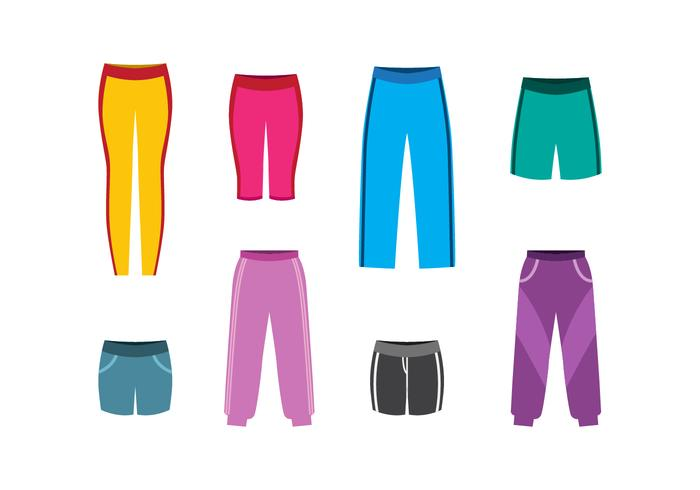 Free Sweatpants Vector