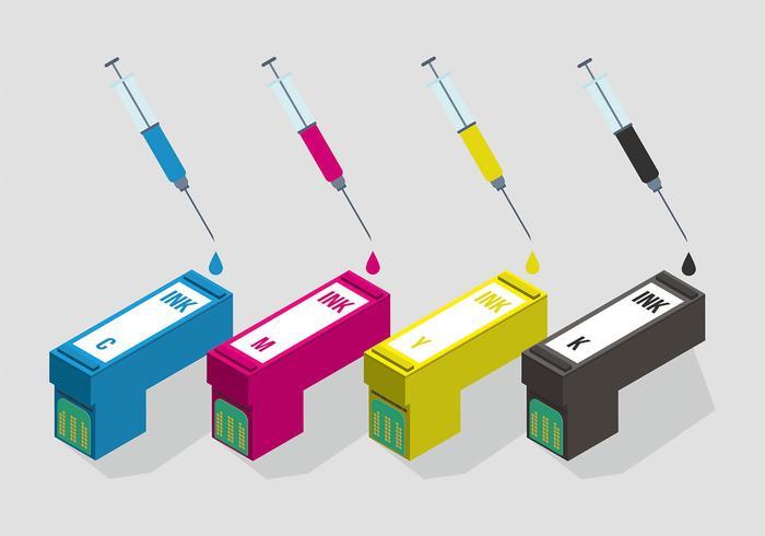 Ink Cartridge Vector