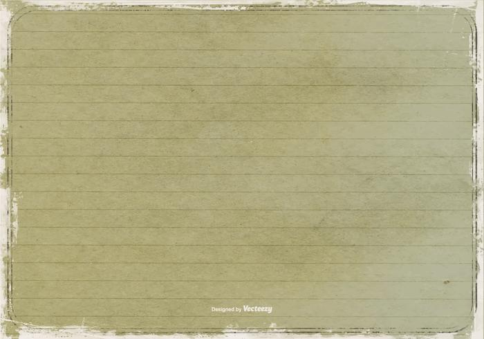 Grunge Lined Paper Texture vector