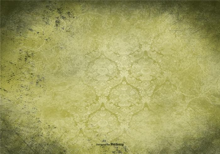 Green Vintage Grunge Background