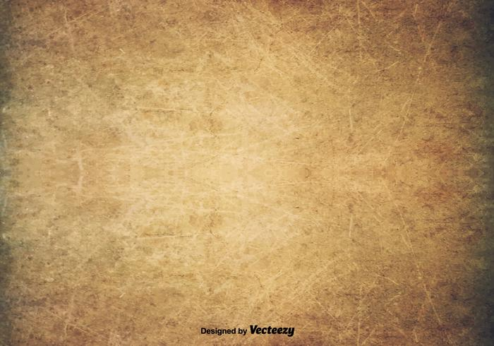 Scratched Old Texture - Vector Grunge Background