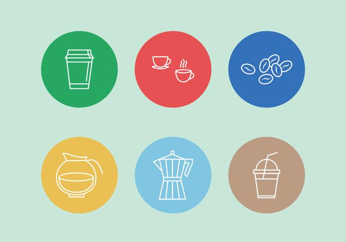 Vector Coffee Icons