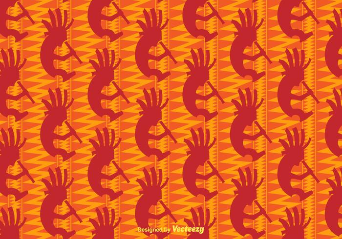 Free Kokopelli Vector Background