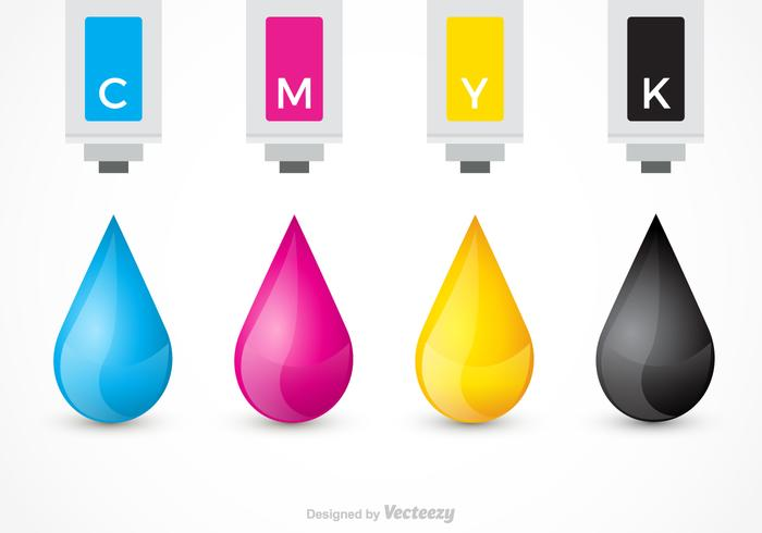 Free Ink Cartridges Vector Design
