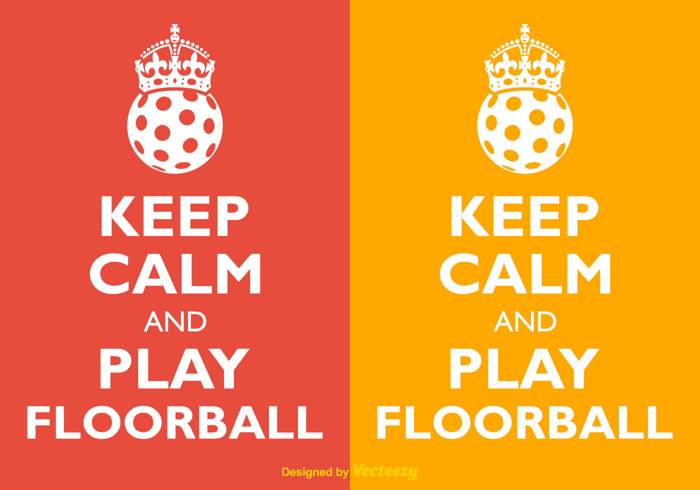Vector Keep Calm And Play Floorball - Download Free Vector Art ...