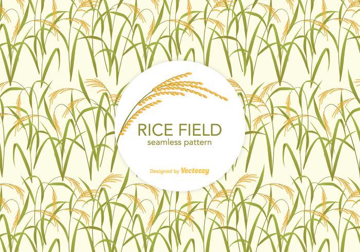 Free Rice Field Vektor Muster