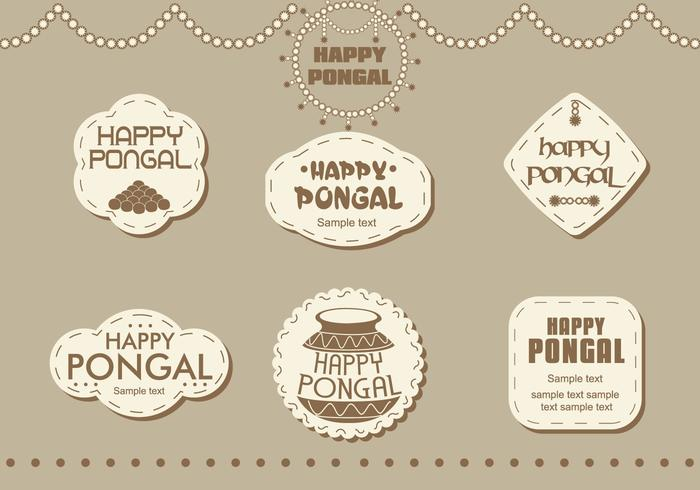 Stickers Happy Pongal