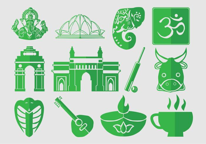 Icon Set Van India