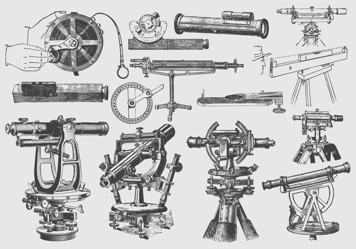 Instrumentos de precisión gris