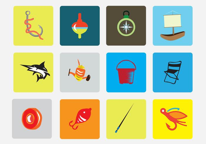 Fishing Vector Icon Pack