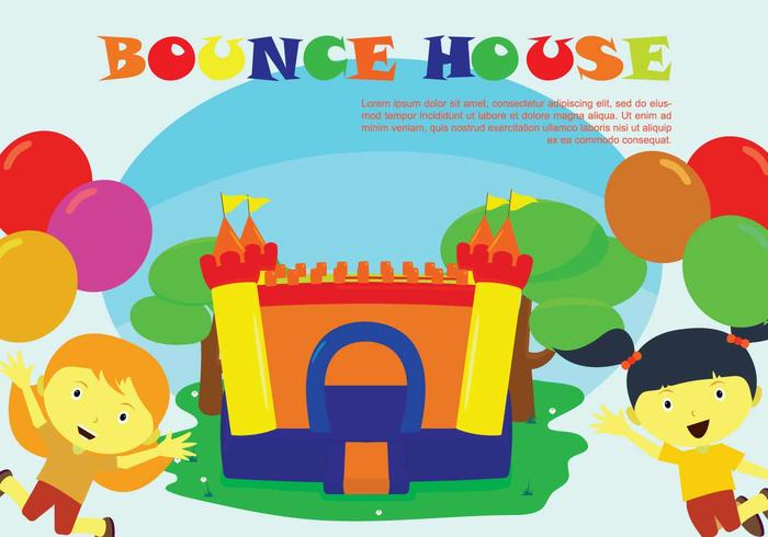 Illustration gratuite de Bounce House
