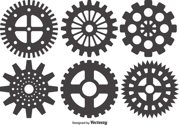 Cogs And Gears Icon Vector Illustration Isolated