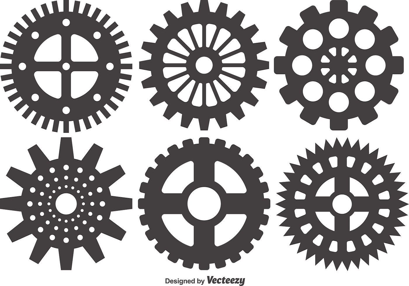 Cogs And Gears Icon Vector Illustration Isolated ...