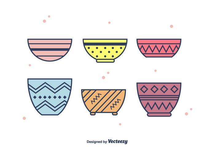 Bowls Vector