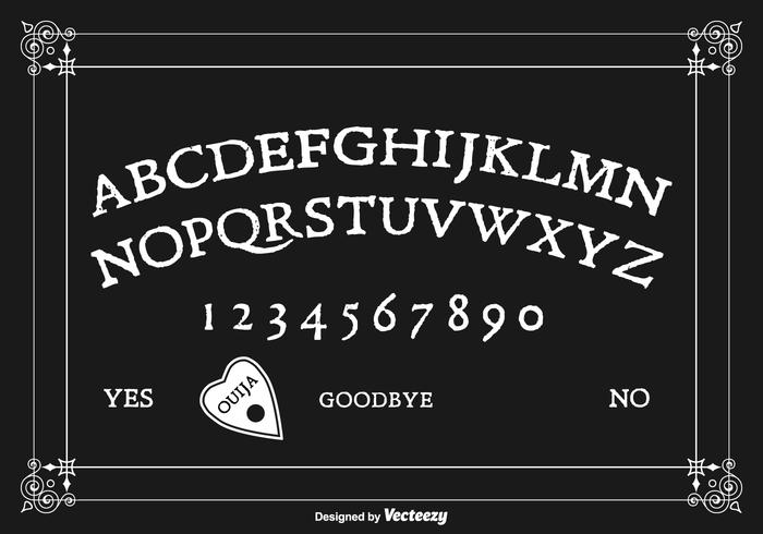 Free Ouija Board Vector Design