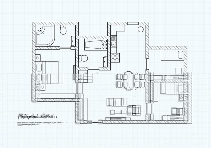 Floor Plan Free Vector Art - (4665 Free Downloads)