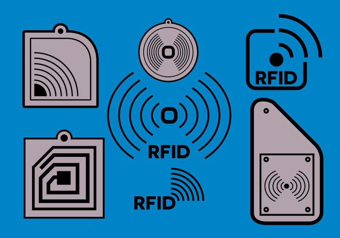 Gratis RFID-vektor