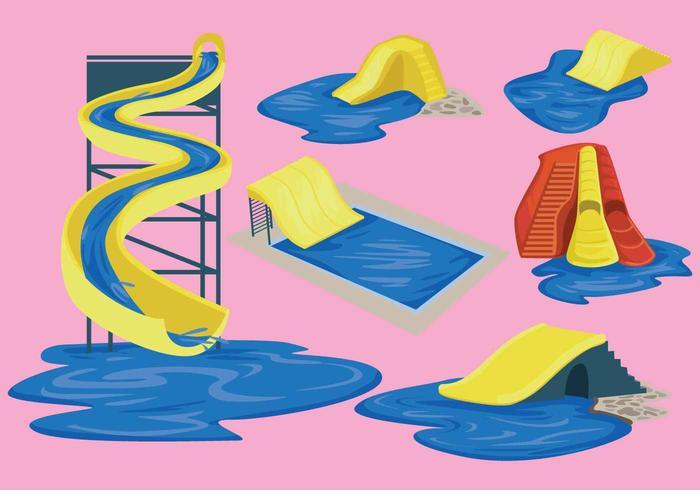 Free Water Slide Vector