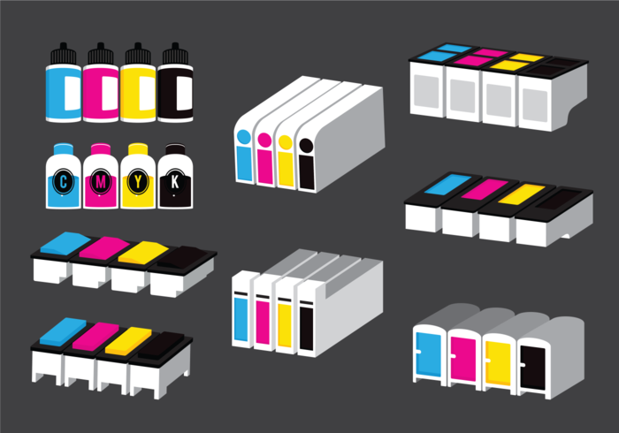 Ink Toner Vectors