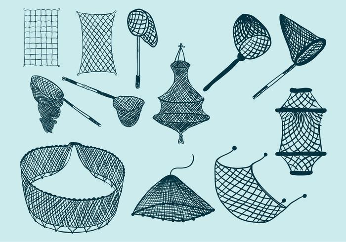 Icône du filet de pêche