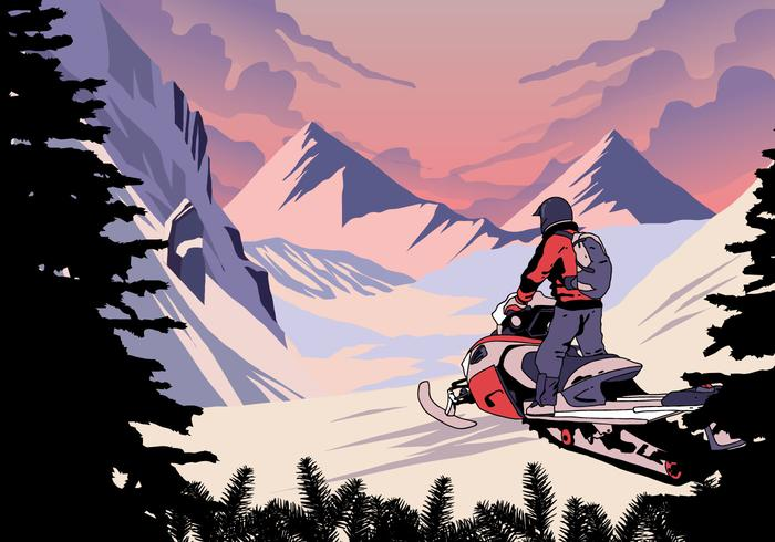 Snowmobile Winter Sport