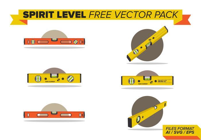 Nivel de Espíritu Pack Vector Libre