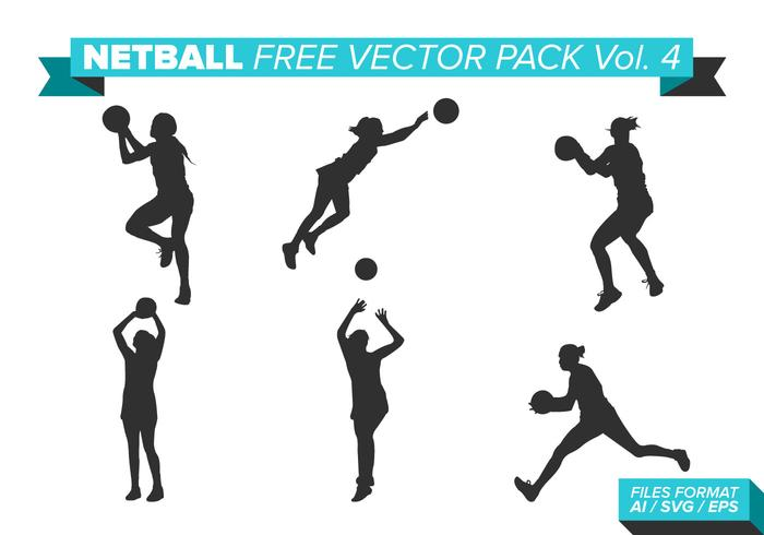 Netball Free Vector Pack Vol. 4