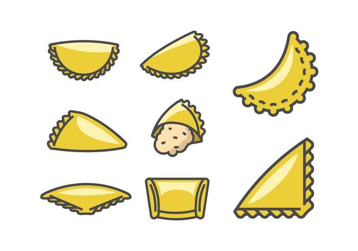 Empanadas Vectors