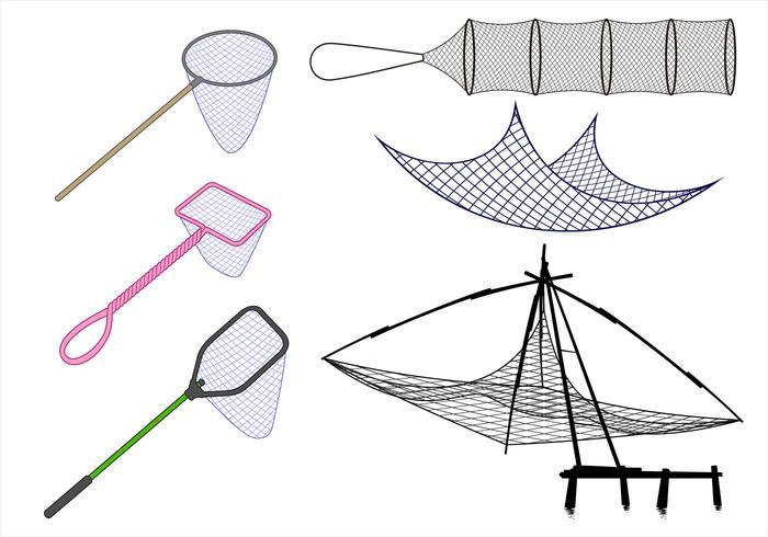 Fishing Net Free Vector