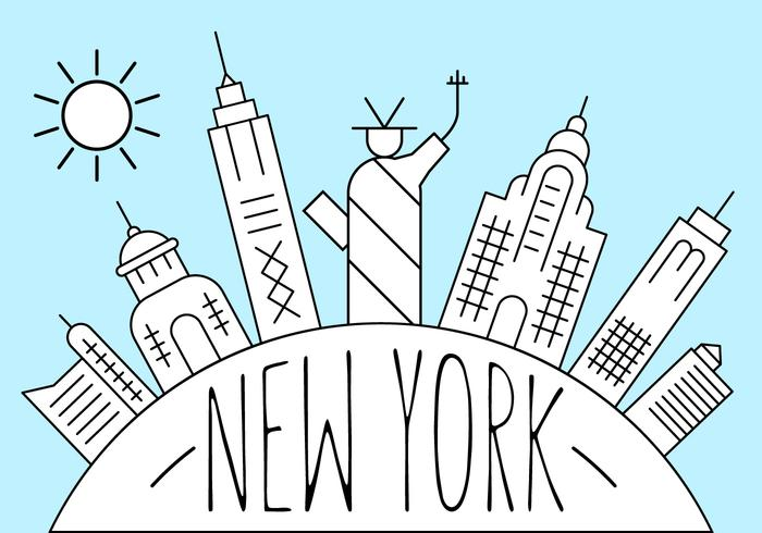 Illustration gratuite de New York
